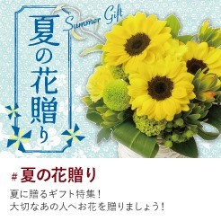 夏の花贈りサマーギフト