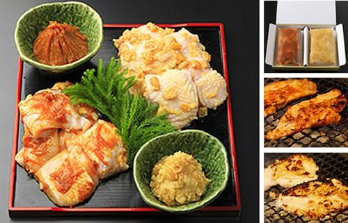 名古屋コーチン 味噌漬味くらべ1