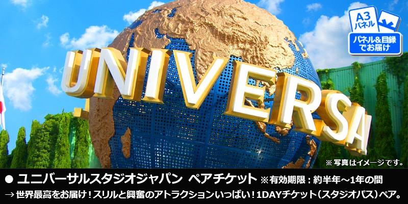 ・ユニバーサルスタジオジャパン USJペアチケット