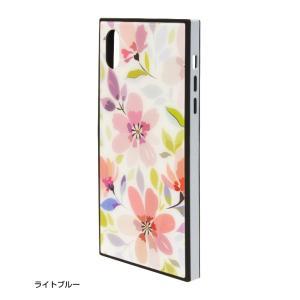ラスタバナナ iPhone XR ケース/カバー ハイブリッド ガラス×TPU×PC 花柄 おしゃれ アイフォン スマホケース|keitai-kazariya|06