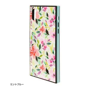 ラスタバナナ iPhone XR ケース/カバー ハイブリッド ガラス×TPU×PC 花柄 おしゃれ アイフォン スマホケース|keitai-kazariya|08
