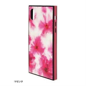 ラスタバナナ iPhone XR ケース/カバー ハイブリッド ガラス×TPU×PC 花柄 おしゃれ アイフォン スマホケース|keitai-kazariya|09