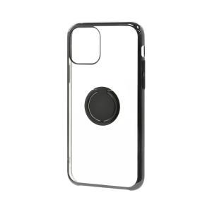 ラスタバナナ iPhone11 ケース カバー ハード トライタン スマホリング付き メタルフレーム アイフォン スマホケース keitai-kazariya 15