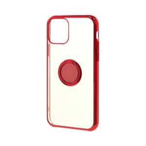 ラスタバナナ iPhone11 ケース カバー ハード トライタン スマホリング付き メタルフレーム アイフォン スマホケース keitai-kazariya 21