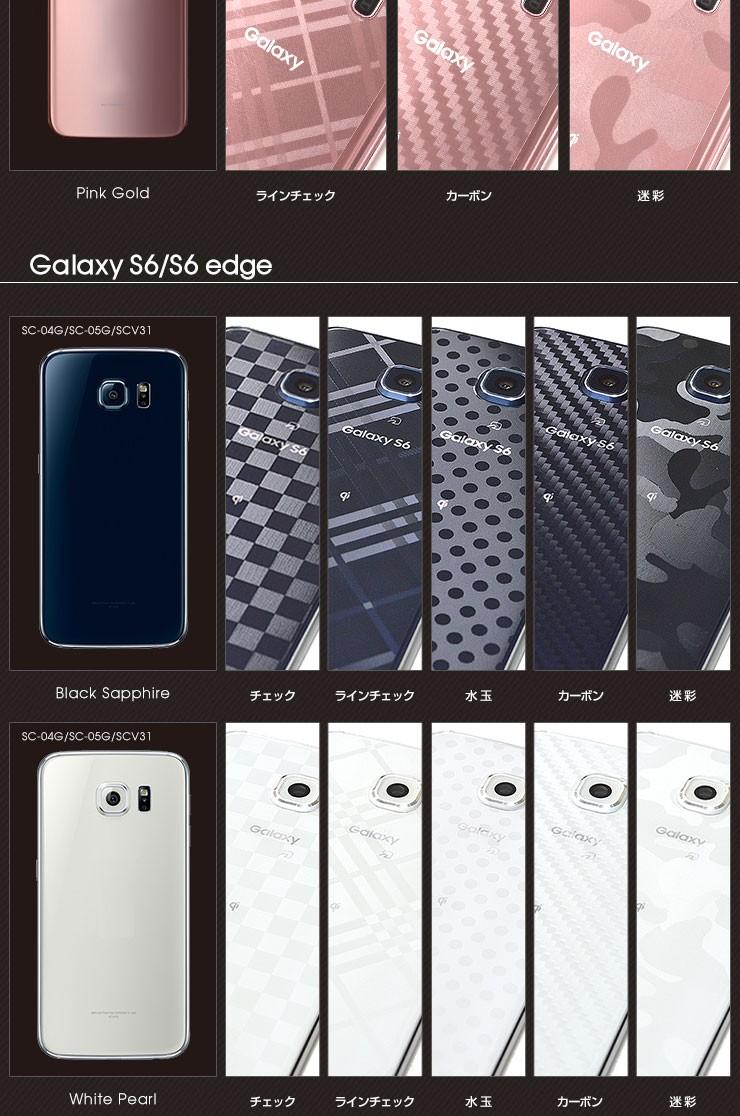 Galaxyシリーズ デザインフィルム詳細2
