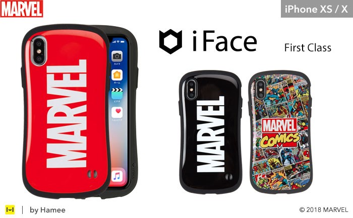 MARVELiFaceiPhoneX用。