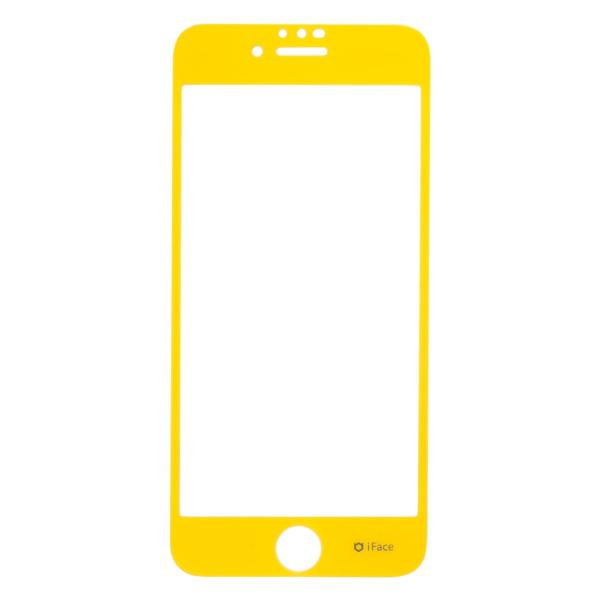 iphone8 ガラスフィルム iface フィルム アイフェイス iphone7 iphone6s iphone6 強化ガラス 液晶保護シート ラウンドエッジ 日本製 keitai 20