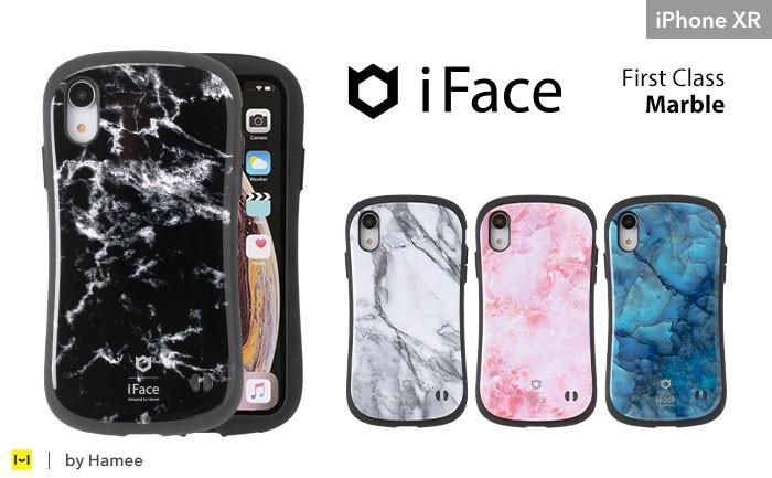iFaceマーブルiPhoneXR用。