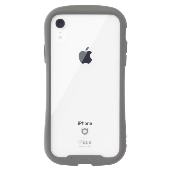 iface クリア 透明 アイフェイス クリア iPhone8 XS/X/XS Max/XR iphone7 ケース 強化ガラス 人気 Reflection|keitai|22