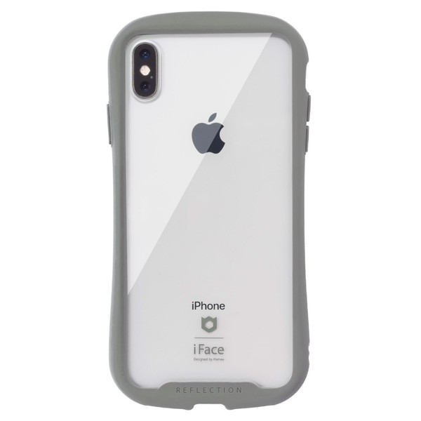 iface クリア 透明 アイフェイス クリア iPhone8 XS/X/XS Max/XR iphone7 ケース 強化ガラス 人気 Reflection|keitai|27