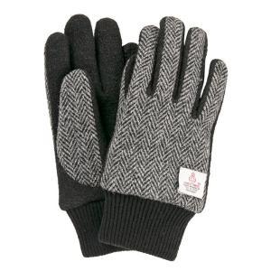スマホ手袋 メンズ レディース 防寒 裏起毛 温かい ボア オシャレ スマートフォン対応 ハリスツイード ジャージグローブ 送料無料|iPhone・スマホケースのHamee