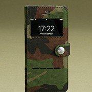 Military Edition Shock Resist Diary Case. for iPhone 8/7