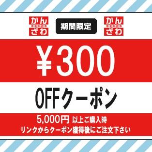 毛糸蔵かんざわの300円引きクーポン