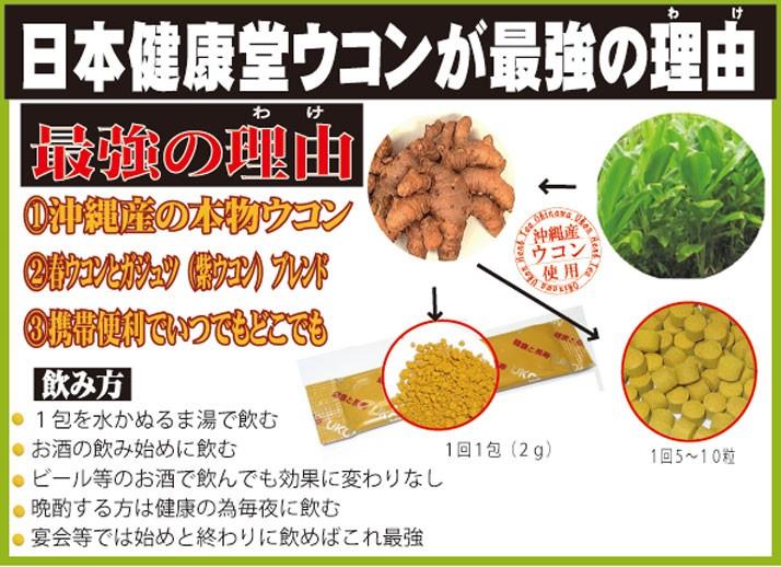 日本健康堂のウコン
