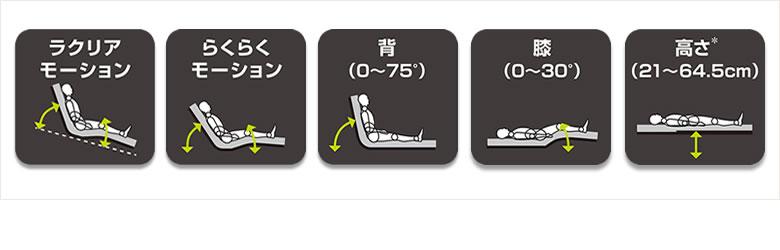楽匠Z 木製ハイタイプ3モーション