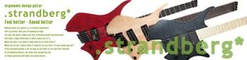 エレキギター strandberg
