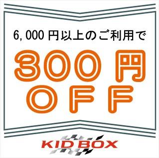 税込6,000円以上の購入で300円OFF!!