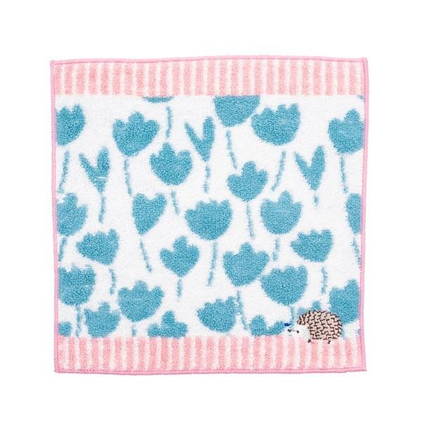ワンポイント刺繍 タオルハンカチ