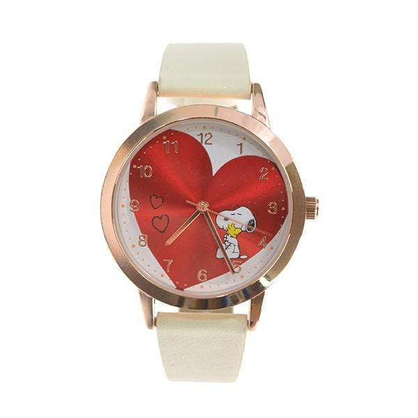 腕時計 レディース スヌーピー SNOOPY 缶入り かわいい おしゃれ 合皮ベルト シンプル カジュアル ブランド ギフト プレゼント|kiitos-web|21