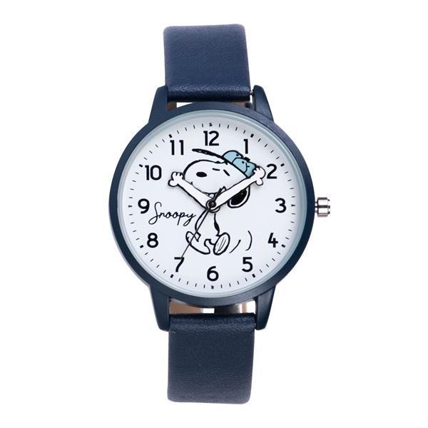 スヌーピー 腕時計 ウォッチ レディース PEANUTS SNOOPY ポーチ付き 手が動く 可愛い ギフト プレゼント 1年間の保証書付き メール便送料無料 kiitos-web 24