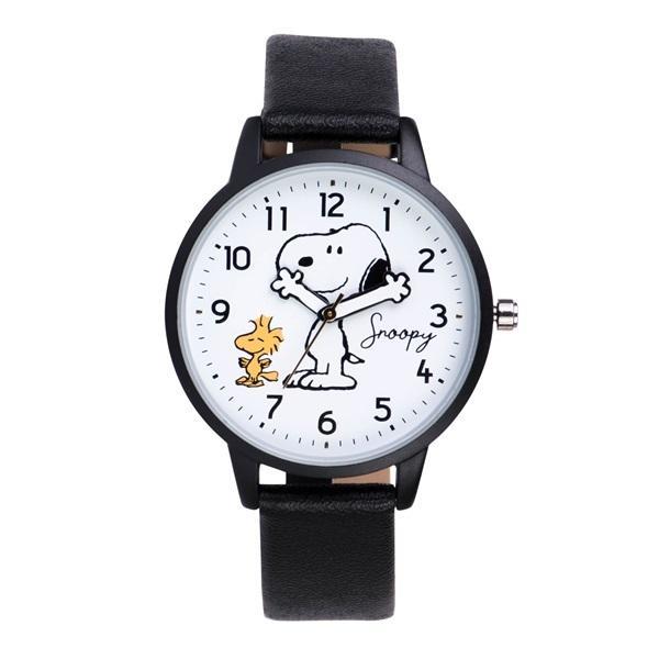 スヌーピー 腕時計 ウォッチ レディース PEANUTS SNOOPY ポーチ付き 手が動く 可愛い ギフト プレゼント 1年間の保証書付き メール便送料無料 kiitos-web 25