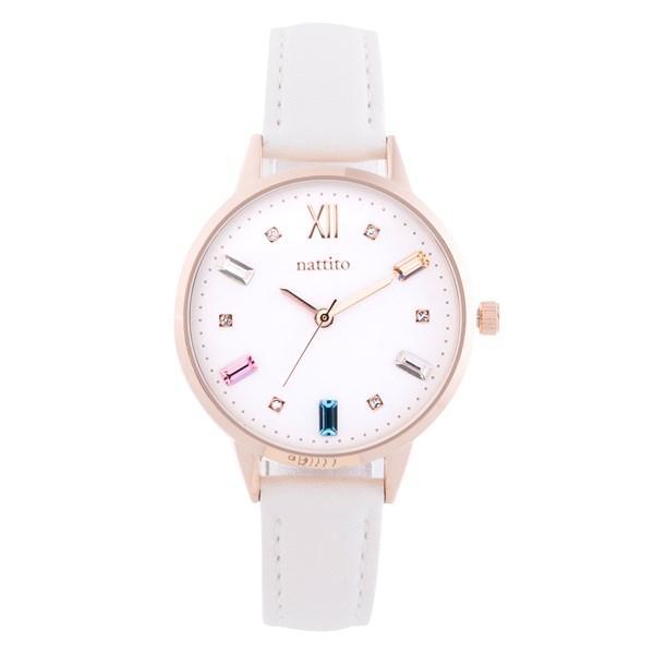 腕時計 レディース スワロフスキー 大人 おしゃれ かわいい ブランド シンプル ビジュー ギフト プレゼント メール便送料無料|kiitos-web|22