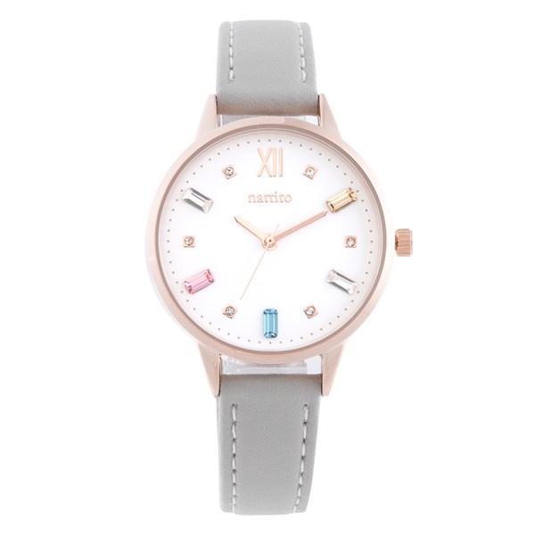 腕時計 レディース スワロフスキー 大人 おしゃれ かわいい ブランド シンプル ビジュー ギフト プレゼント メール便送料無料|kiitos-web|23