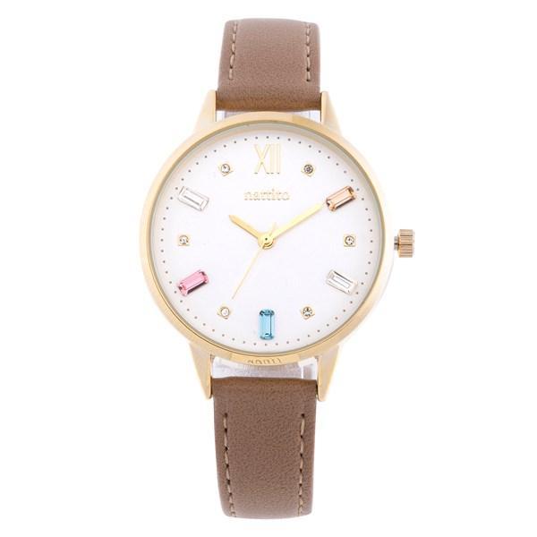 腕時計 レディース スワロフスキー 大人 おしゃれ かわいい ブランド シンプル ビジュー ギフト プレゼント メール便送料無料|kiitos-web|25
