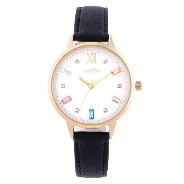 腕時計 レディース スワロフスキー 大人 おしゃれ かわいい ブランド シンプル ビジュー ギフト プレゼント メール便送料無料|kiitos-web|26