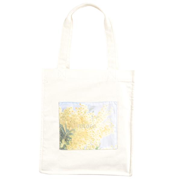 転写刺繍トートバッグ