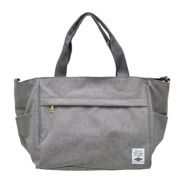 バッグ 10ポケット 2wayトート 軽量 高密度ナイロン キャンバス 多機能 マザーズバッグ ショルダーバッグ 斜め掛け レディース 大容量 旅行 送料無料|kiitos-web|28