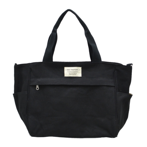 バッグ 10ポケット 2wayトート 軽量 高密度ナイロン キャンバス 多機能 マザーズバッグ ショルダーバッグ 斜め掛け レディース 大容量 旅行 送料無料|kiitos-web|30