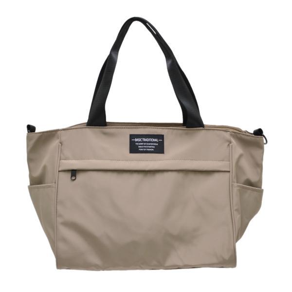 バッグ 10ポケット 2wayトート 軽量 高密度ナイロン キャンバス 多機能 マザーズバッグ ショルダーバッグ 斜め掛け レディース 大容量 旅行 送料無料|kiitos-web|22