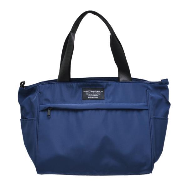 バッグ 10ポケット 2wayトート 軽量 高密度ナイロン キャンバス 多機能 マザーズバッグ ショルダーバッグ 斜め掛け レディース 大容量 旅行 送料無料|kiitos-web|23