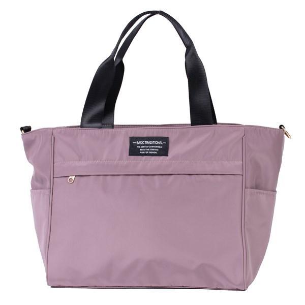 バッグ 10ポケット 2wayトート 軽量 高密度ナイロン キャンバス 多機能 マザーズバッグ ショルダーバッグ 斜め掛け レディース 大容量 旅行 送料無料|kiitos-web|25