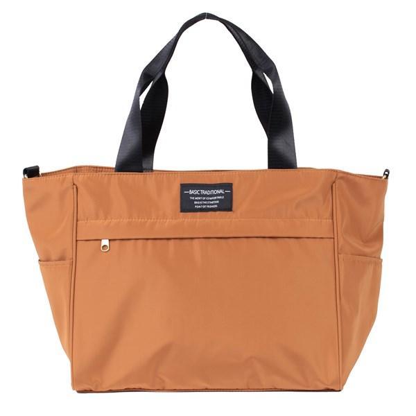 バッグ 10ポケット 2wayトート 軽量 高密度ナイロン キャンバス 多機能 マザーズバッグ ショルダーバッグ 斜め掛け レディース 大容量 旅行 送料無料|kiitos-web|26