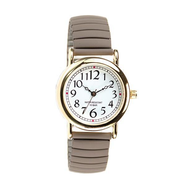 腕時計 レディース 10気圧防水 じゃばら 大人 かわいい おしゃれ ギフト プレゼント 1年間のメーカー保証付 メール便送料無料 kiitos-web 24