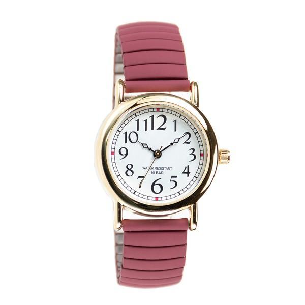 腕時計 レディース 10気圧防水 じゃばら 大人 かわいい おしゃれ ギフト プレゼント 1年間のメーカー保証付 メール便送料無料 kiitos-web 25