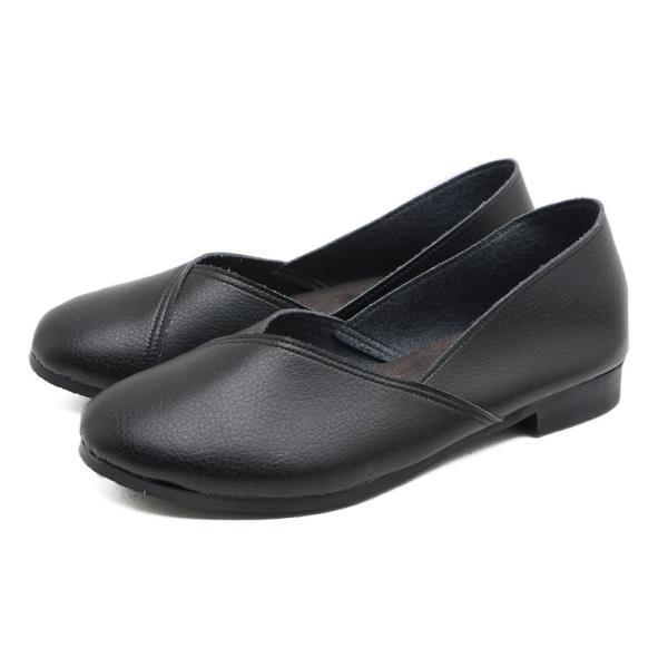 パンプス 走れるパンプス 痛くない 歩きやすい ローヒール 大きいサイズ フラットシューズ  ナチュラル ぺたんこ 疲れない 柔らかい レディース 靴|kilakila|21
