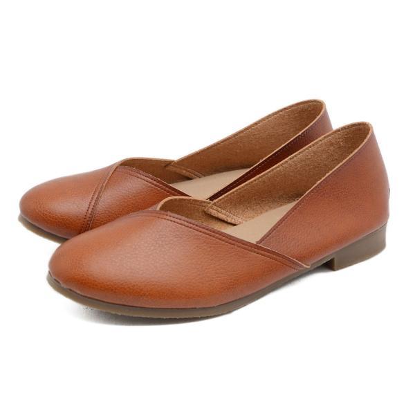 パンプス 走れるパンプス 痛くない 歩きやすい ローヒール 大きいサイズ フラットシューズ  ナチュラル ぺたんこ 疲れない 柔らかい レディース 靴|kilakila|22