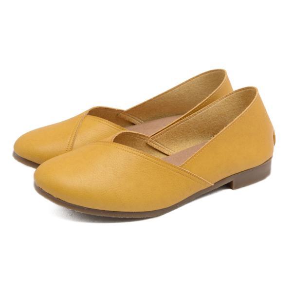 パンプス 走れるパンプス 痛くない 歩きやすい ローヒール 大きいサイズ フラットシューズ  ナチュラル ぺたんこ 疲れない 柔らかい レディース 靴|kilakila|25