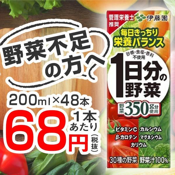 一日分の野菜ジュース