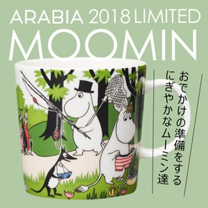 アラビア ムーミンマグ