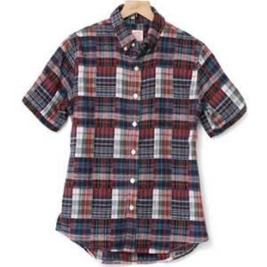 2レイヤーボタンダウンチェックシャツ(半袖) kilostore 06