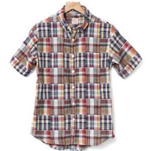 2レイヤーボタンダウンチェックシャツ(半袖) kilostore 07