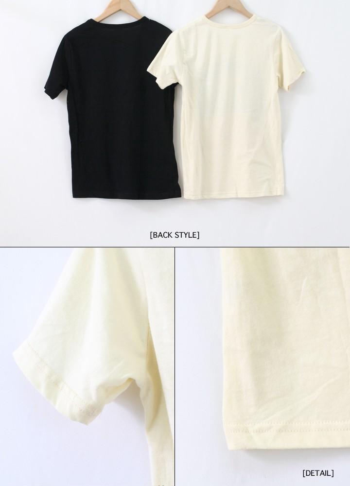 プリントTシャツ   DEER
