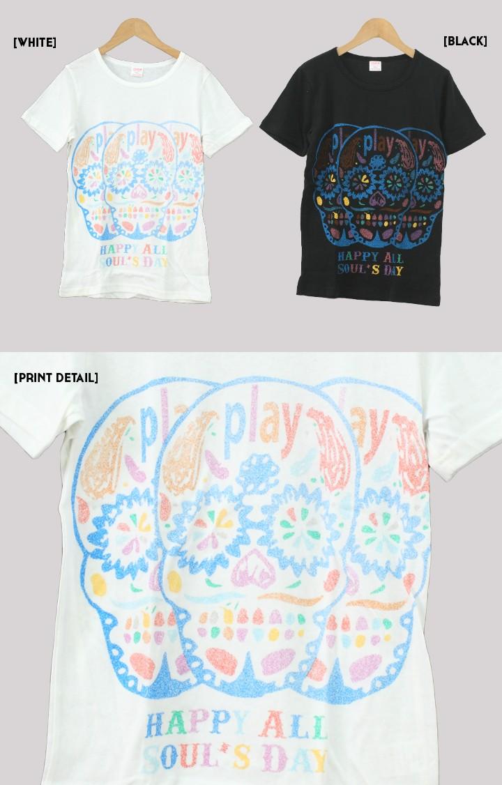 プリントTシャツ HAPPY SOUL