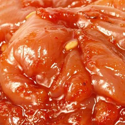 本場韓国のチャンジャはスケソウダラの内臓だけで作ります