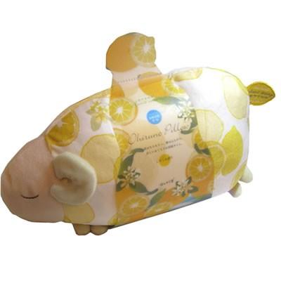 プレゼント 贈り物 レモンおやすみ羊お昼寝まくら・ドッグアイピローと入浴剤のセット