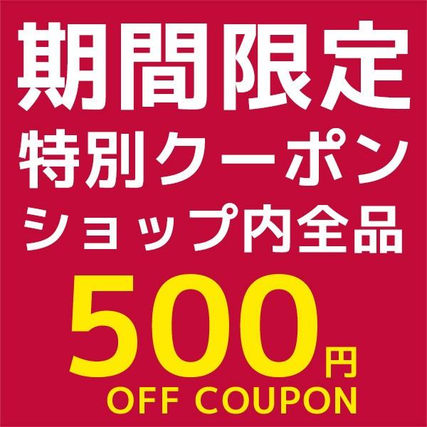 全品500円OFFクーポン